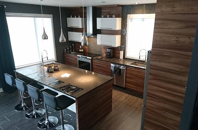 Armoires de cuisine varennes les entreprises beno t filiatreault inc - Armoire de cuisine boucherville ...